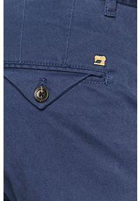 Scotch & Soda - Spodnie. Kolor: niebieski. Materiał: tkanina