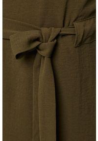 Zielona sukienka Vila prosta, casualowa, mini #5