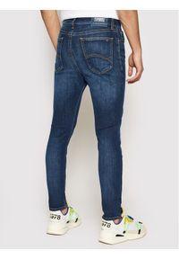 Tommy Jeans Jeansy DM0DM03958 Granatowy Slim Fit. Kolor: niebieski