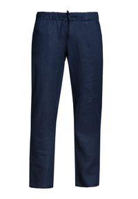 Niebieskie spodnie VEVA na lato
