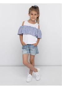 Primigi Szorty jeansowe 43242531 Niebieski Regular Fit. Kolor: niebieski. Materiał: jeans