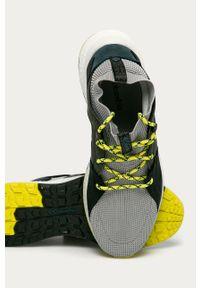 Wielokolorowe sneakersy columbia z cholewką, na sznurówki