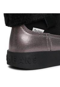 Srebrne kozaki Pepe Jeans