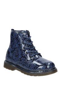 Niebieskie buty zimowe American Club