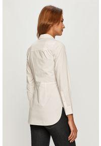 Biała koszula AllSaints długa, z długim rękawem, klasyczna, na co dzień