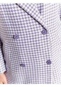 Fioletowy płaszcz TOP SECRET