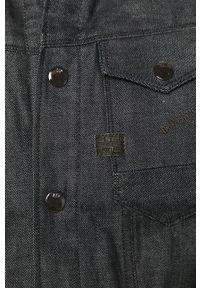 Niebieska kurtka G-Star RAW bez kaptura, na co dzień, casualowa