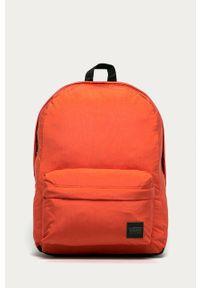 Vans - Plecak. Kolor: pomarańczowy. Materiał: materiał, nylon, poliester. Wzór: gładki #1