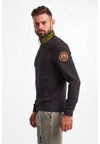 Aeronautica Militare - BLUZA AERONAUTICA MILITARE. Wzór: haft, aplikacja