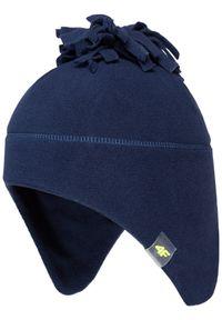 Niebieska czapka zimowa 4f na wiosnę