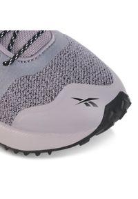 Fioletowe buty do biegania Reebok na co dzień, z cholewką