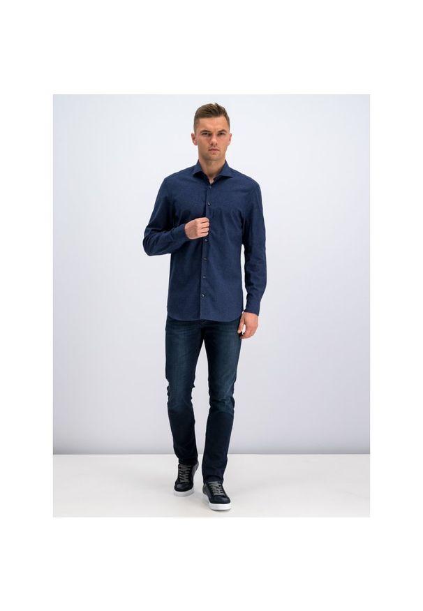 Niebieska koszula casual Baldessarini