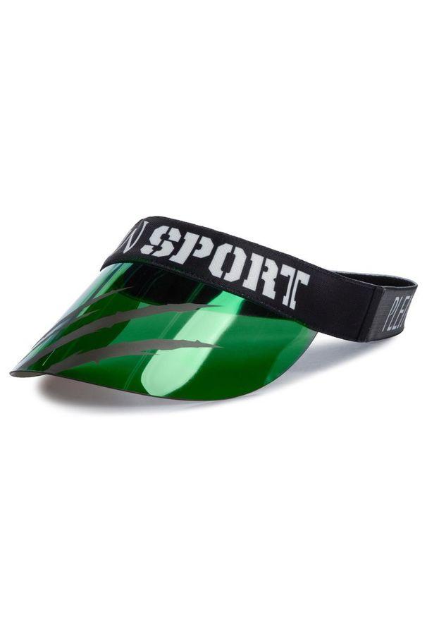 Zielona czapka z daszkiem Plein Sport sportowa