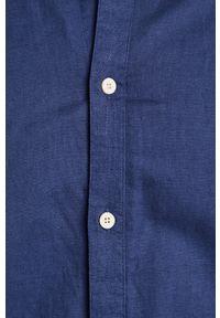 Niebieska koszula medicine casualowa, ze stójką