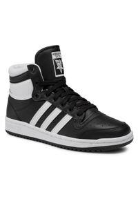 Czarne sneakersy Adidas z cholewką, na co dzień