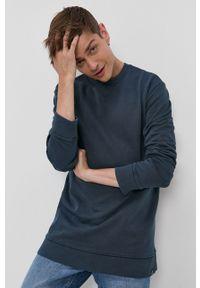 Only & Sons - Bluza bawełniana. Okazja: na co dzień. Kolor: niebieski. Materiał: bawełna. Styl: casual