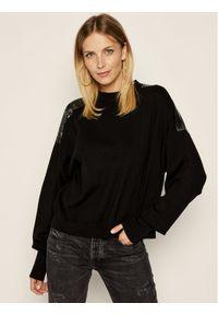 Czarny sweter klasyczny The Kooples