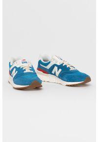 New Balance - Buty CM997HRP. Nosek buta: okrągły. Zapięcie: sznurówki. Kolor: niebieski. Materiał: guma