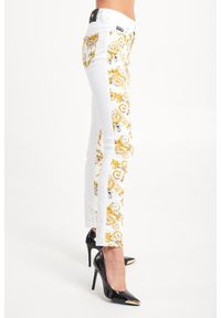 Jeansy Versace Jeans Couture z podwyższonym stanem, klasyczne