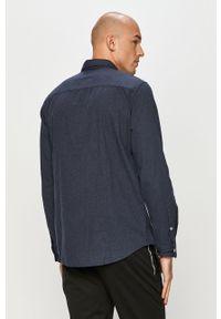 Niebieska koszula Tom Tailor casualowa, długa, z długim rękawem