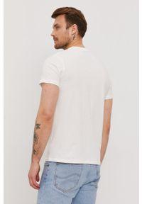 Pepe Jeans - T-shirt Mac. Okazja: na co dzień. Kolor: biały. Wzór: nadruk. Styl: casual