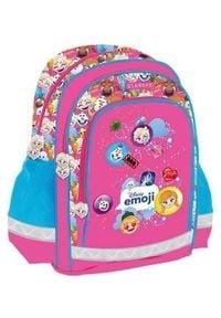 Starpak Plecak szkolny Emoji Frozen różowo-niebieski (396279). Kolor: niebieski, różowy, wielokolorowy