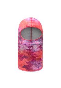 Różowa czapka zimowa Buff
