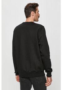Czarna bluza nierozpinana Prosto. bez kaptura, casualowa, na co dzień