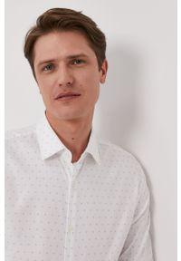 Biała koszula Hugo długa, klasyczna