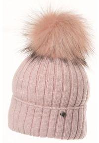Różowa czapka Jamiks