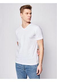 BOSS - Boss T-Shirt Canistro 80 50385258 Biały Regular Fit. Kolor: biały