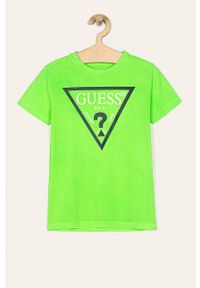 T-shirt Guess Jeans casualowy, na co dzień