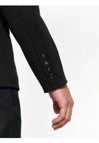 TOP SECRET - Marynarkami z zamkami. Okazja: na co dzień. Kolor: czarny. Materiał: tkanina, jeans. Sezon: jesień, zima. Styl: klasyczny, elegancki, casual #5