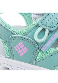 Zielone buty sportowe columbia