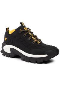 CATerpillar - Sneakersy CATERPILLAR - Intruder P723901 Black. Okazja: na co dzień. Kolor: czarny. Materiał: skóra, nubuk, materiał. Szerokość cholewki: normalna. Sezon: lato. Styl: casual