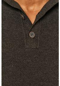 medicine - Medicine - Sweter Classic Gatteway. Okazja: na co dzień. Kolor: szary. Długość rękawa: długi rękaw. Długość: długie. Styl: casual