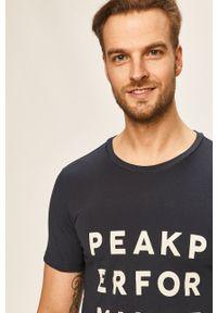 T-shirt Peak Performance casualowy, z nadrukiem, na co dzień