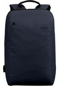 Niebieski plecak na laptopa Puro