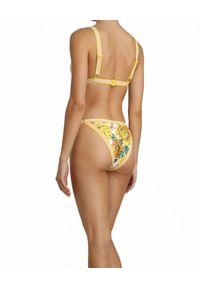ZIMMERMANN - Żółty top od bikini. Kolor: żółty. Materiał: lycra