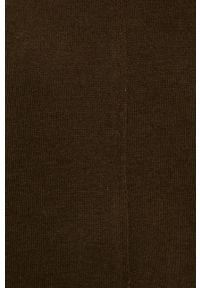 Oliwkowy sweter Vero Moda casualowy, raglanowy rękaw