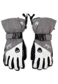 Szare rękawiczki sportowe Level narciarskie