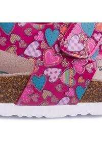 Różowe sandały Dr. Brinkmann na co dzień, casualowe