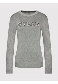 Guess Sweter Elvire W1YR0K Z2NQ0 Szary Regular Fit. Kolor: szary