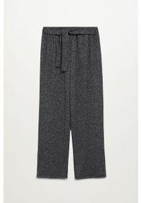 Czarne spodnie Mango Kids melanż