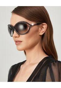 Tom Ford - TOM FORD - Okulary Whitney. Kolor: szary