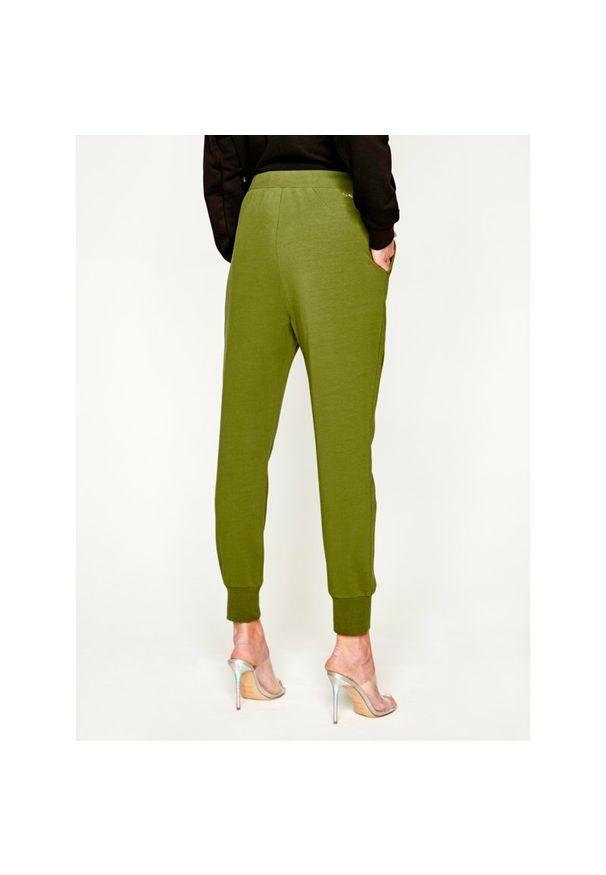 Zielone spodnie Liu Jo Sport sportowe