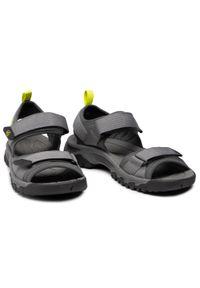 Szare sandały trekkingowe keen z otwartym noskiem