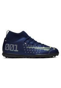 Buty piłkarskie turfy dla dzieci Nike Mercurial Superfly 7 Club MDS TF BQ5416. Materiał: skóra, materiał, syntetyk. Szerokość cholewki: normalna. Sezon: zima. Sport: piłka nożna