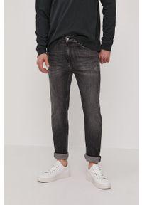 Szare jeansy Calvin Klein