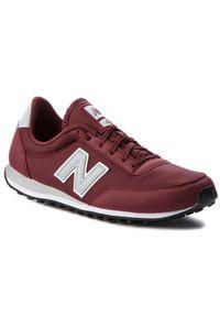 Czerwone buty sportowe New Balance z cholewką, na co dzień